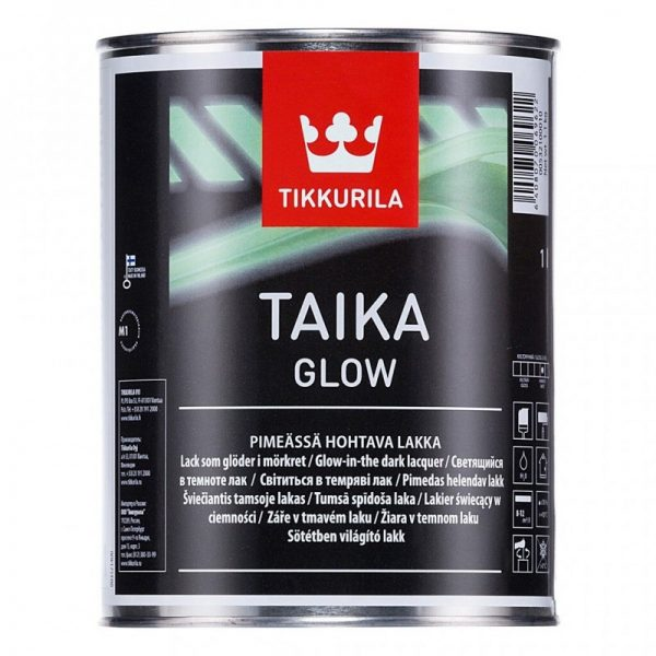 Vopsea decorativa fluorescenta Taika Glow Tikkurila